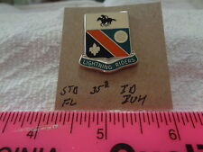 STB 35th Infantry Divsion FL IOH Unit Crest, DI, DUI (DRAW#X3)