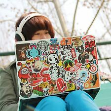 Cheap 50PCS Stickers Skateboard Sticker Graffiti Laptop Luggage Car Decal Lot