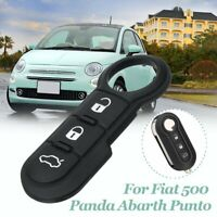 Fiat 500 Punto 124 Abarth Stainless Steel Key Ring Key Fob Holder 6002350504