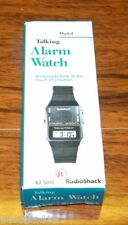 Genuine Radio Shack (63-5042) LCD Digital Talking Alarm Wrist Watch **NEW**READ*