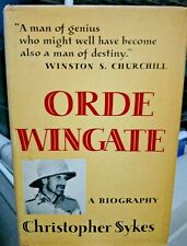 """""""Orde Wingate - A biography"""" by Christopher Sykes"""