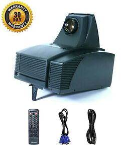 """Optoma EzPro 585  6.40"""" TFT LCD Projector Tested - Working Great, w/Remote"""