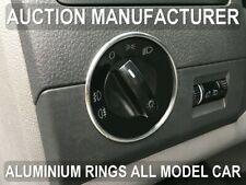 VW Transporter T5 03-15 Chrome Lights Switch Surround Trim Ring New