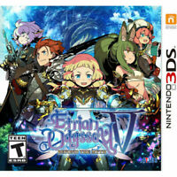 Etrian Odyssey V: Beyond The Myth - Nintendo 3DS Atlus Brand New