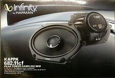 """Infinity Kappa 682.11cf Peak Power Handling 300 Watts 5""""x7"""" / 6""""x8"""" Car Speakers"""
