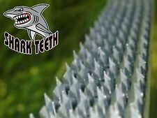 New Boss Buck Shark Teeth Deterrent Strips Silver Free Shipping