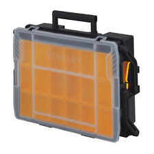 Small Parts Storage Tool Box Organizer Bins 23 Compartment Cantilever Shop Home