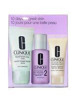 Clinique 3 Step Skin Care System-3 Pc Set