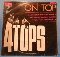 FOUR TOPS ON TOP VINYL LP TAMLA UK STEREO '66 ORIGINAL PRESS NICE COND! VG/VG!!B