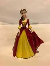 "Belle Disney Princess Beauty and Beast Figure Plastic 3"" Tall Cake Topper Pvc"