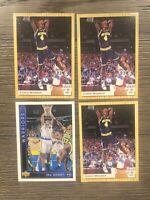 (4) Chris Webber Rookie Lot 1992 1993 Classic & Upper Deck Lot