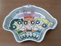 Wilton #2105-9902 Powerpuff Girls Cake Pan With Insert 2000 New
