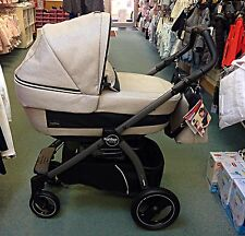 BRAND NEW PEG-PEREGO PRAM SYSTEM BOOK PLUS LUXE BEIGE