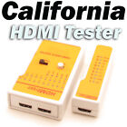 HDMI High Definition Cable Signal Tester Tool with LED Indicators Portable