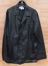 Genuine M. Julian Wilsons Leather Men's Black Leather Jacket Only **READ**