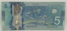 Canadian 2013 $5 M.Carney Changeover Note Serial # HBG3584370