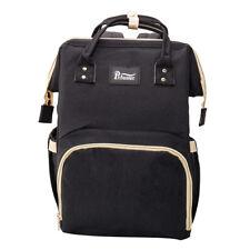 Baby Diaper Nappy Backpack Changing Bag Multifunctional Waterproof