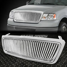 FOR 04-08 F-150 PICKUP TRUCK CHROME FRONT SPORT REPLACEMENT GRILL/GRILLE GUARD