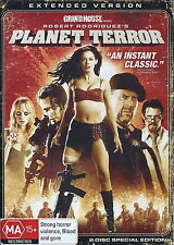 Planet Terror - Horror / Action - Rose McGowan, Bruce Willis - 2 Disc NEW DVD