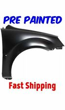 New PRE PAINTED Passenger RH Fender for 2006-2011 Kia Rio Sedan w Free Touch Up