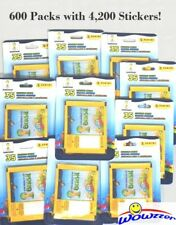(600) 2014 Panini World Cup Brazil Factory Sealed Sticker Packs-4,200 Stickers!!
