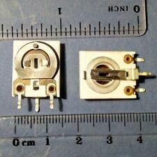 3pcs Iskra PNC ceramic trimmer potentiometer 1W 100 10K 47K 250K ohm NOS vintage