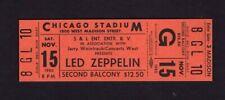 Led Zeppelin ticket