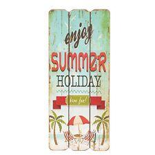 clayre & eef CUADRO MADERA verano Holiday NUEVO Nostalgia Shabby Chic Vintage
