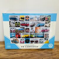 Official VW product Gibsons 1000 piece VW Campervan montage jigsaw puzzle New