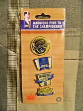 Golden State Warriors Pins (2016, NBA, Pins To The Championship, Brand New)