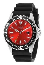 Invicta Men's IN-32303 Pro Diver 44mm Red Dial Polyurethane Watch