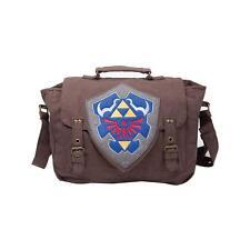 NINTENDO Legend of Zelda Hylian Shield Messenger Bag, Brown (MB210116ZEL)