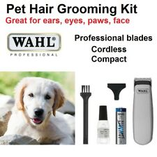 WAHL Pet Grooming Kit Professional Dog Hair Clipper Trimmer Cat Animal Cordless