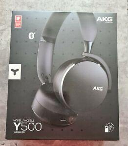 AKG Y500 Wireless Bluetooth Over-Ear Kopfhörer - Schwarz Neu & OVP
