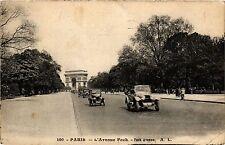 CPA PARIS 16e-Avenue Foch (325358)