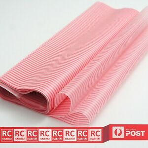 Wax Paper Pink Stripe Grease-proof Food Packaging Wrapping Pastry Party Wrap