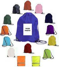 Personalizado Bolso Pe con Foto o Logo Poliéster Elástico Gimnasio Sac Natación