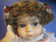 Adrorable 14 Inch Porcelain My Baby Bright E Doll.in box.
