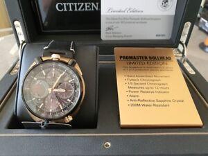 Citizen AV0073-08E Eco-Drive Limited Edition Promaster Bullhead