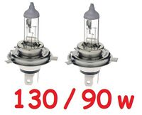 1 pair H4 90/130W Globes fit Land Rover County 110 130 Defender Discovery 3