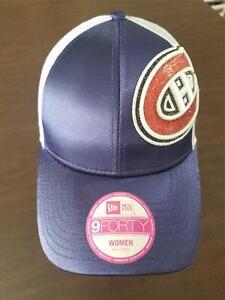 New Era Cap Montreal Canadiens 9Forty adjustable women's hat w/ mesh NEW