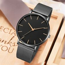 Women Watch Rose Gold Montre Femme 2019 Women's Mesh Belt ultra-thin Fashion