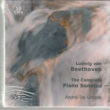 Andre De Groote BEETHOVEN The Complete Piano Sonatas - Solal SOL 006 SEALED