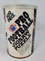 Vintage 1972 Pro Football Jigsaw Puzzle Greg Landry 300 Piece, DETROIT LIONS