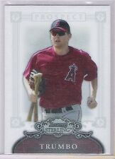 2006 Bowman Sterling Orioles Mark Trumbo Rookie Card