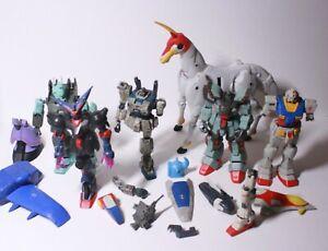 VINTAGE Gundam Bandai Mobile Suit Fighter Action Figure lot MSIA PARTS PIECES