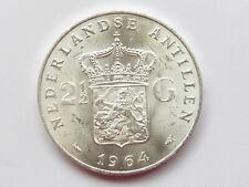 L1620     NIEDERLANDE / ANTILLEN  2 1/2 Gulden 1964