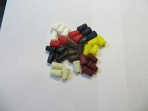 20 Kordel enden, Glocke  ,schnurre bis 4mm,  Kunststoff ,Grundpreis Stück/0,10€