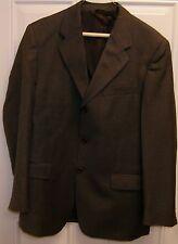 Roberto Villini Men's 2 Piece Grey Suit Pants 32/32 & Jacket Size 40 New