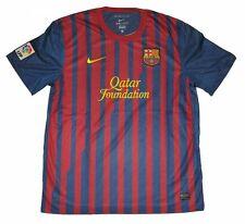 Nike FC Barcelona Barca Home Trikot 2011/2012 Rot-blau